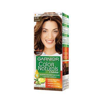 کرم رنگ موی کالرنچرالز شماره 6.34 قهوه ای با انعکاس طلایی مسی