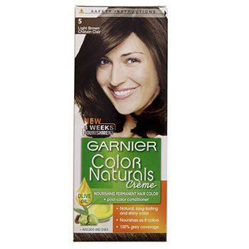 کرم رنگ موی کالرنچرالز شماره 5 قهوه ای روشن طبیعی