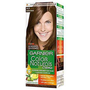 کرم رنگ موی کالرنچرالز شماره 4.3 قهوه ای طلایی