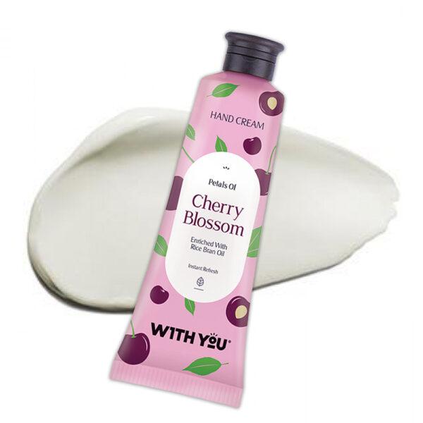 کرم دست عصاره شکوفه گیلاس ویت یو