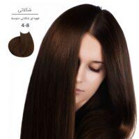 رنگ موی مارال ۱۰۰ میل سری شکلاتی