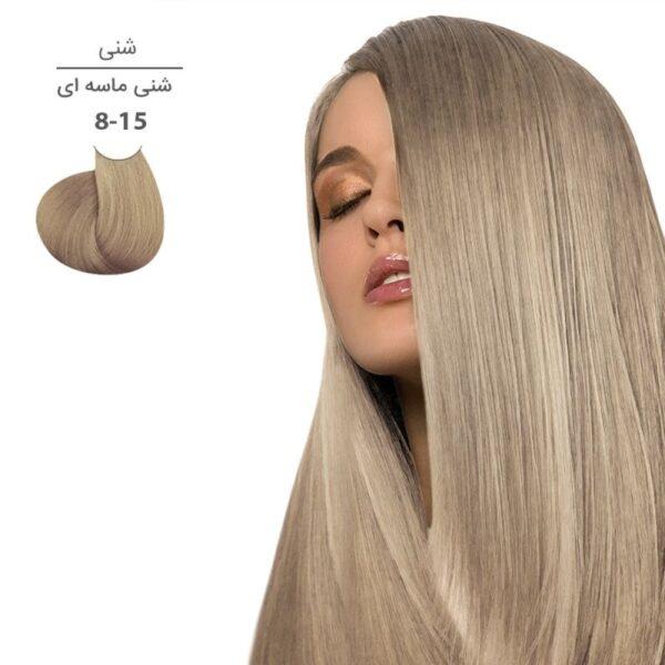 رنگ موی مارال 100 میل سری شنی