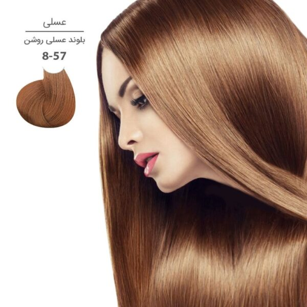 رنگ موی مارال ۱۰۰ میل سری عسلی