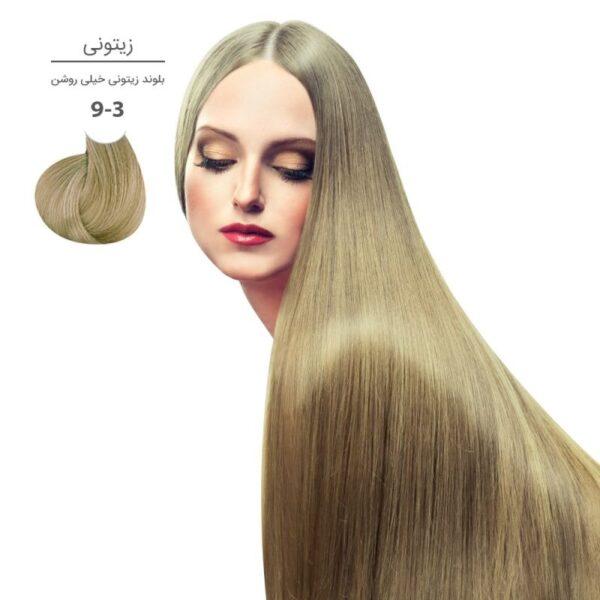 رنگ موی مارال ۱۰۰ میل سری زیتونی