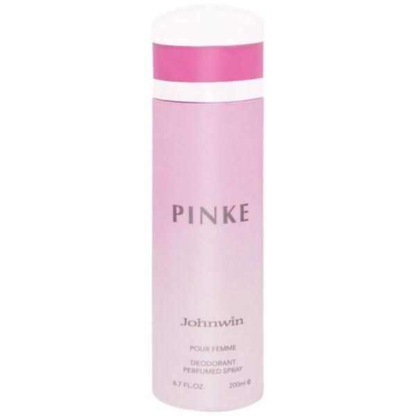 اسپری دئودورانت مردانه جانوین مدل Pinke