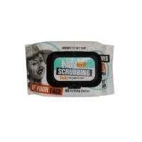 دستمال مرطوب پاک کننده آرایش آف یور فیس نینو مدل اسکرابینگ50 عددی