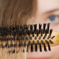برس مو چوبی گرد سایز متوسط