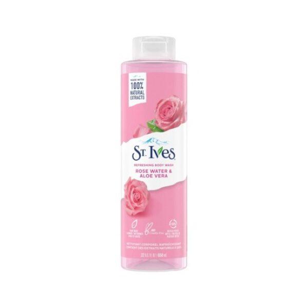 شامپو بدن گل رز و آلوورا سینت ایوز
