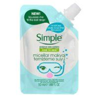 محلول میسلار پاک کننده آرایش سیمپل